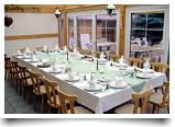Restaurant in der Hotel Pension Märkischhheide